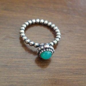Pandora birthstone ring size 6